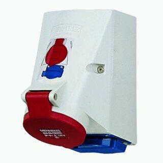 Mennekes Doppelbox TwinCONTACT 16A5p6H400V IP44 (1649)