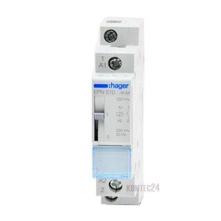 Hager Fernschalter 1S 230V AC 16A
