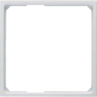 Berker 11099089 Adapterring f. Zentralstück 50 x 50 mm S.1 polarweiß, glänzend