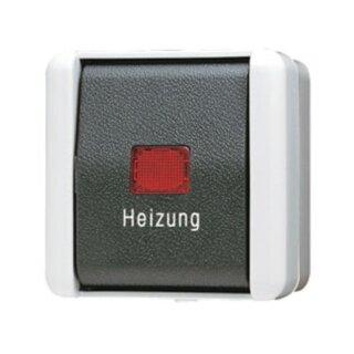 Jung Heizungsschalter 10 AX 250 V ~ 806HW