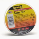 3M Scotch Super 33+ Vinyl Elektro-Isolierband Schwarz 19mm x 20m