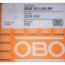 OBO Bettermann 2026 25 Haft-Clip 7-12mm L=25 (200Stk)