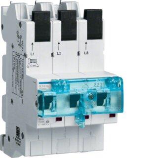 Hager HTS350E SLS-Schalter 3 polig E-50A für Sammelschiene QC