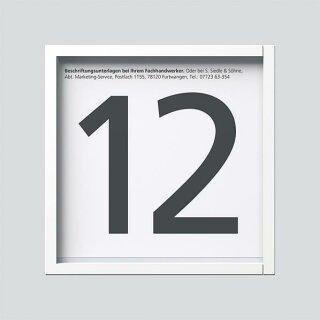 Siedle Informations-Modul IM 612-0 W Weiß