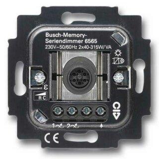 Busch-Jaeger 6565 U Busch-Serien-Tastdimmer UP RC 45-315 W
