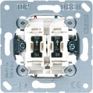 Jung Wipp-Kontrollschalter Serien mit 2 Gl. 505KOU5