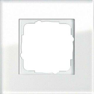 Gira 021112 Abdeckrahmen 1f Gira Esprit G Weiß