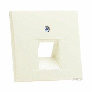 Berker 14078982 Zentralstück f. UAE Steckdose S.1 weiß, glänzend