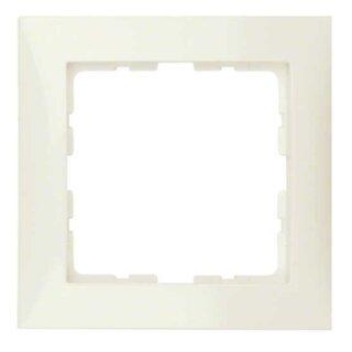 Berker 10118982 Rahmen 1fach S.1 weiß, glänzend