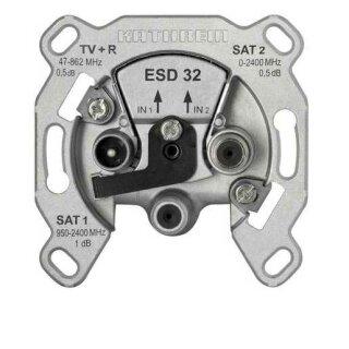 Kathrein ESD 32 Sat-Einzelanschlussdose 3fach