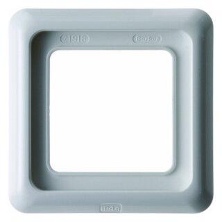 Berker 132809 Rahmen 1fach mit Dichtung wg Up IP44 polarweiß, glänzend