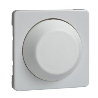 Elso Zentralplatte mit Drehknopf für Dimmer FASHION/RIVA/SCALA reinweiß