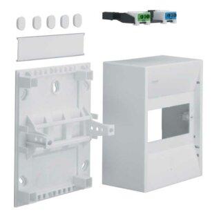 Hager Miniverteiler gamma 6PLE IP30 1xPE 1xN