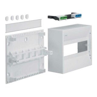 Hager Miniverteiler gamma 10PLE IP30 1xPE 1xN