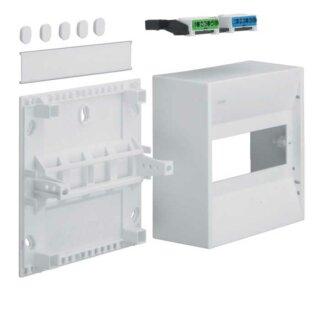 Hager Miniverteiler gamma 8PLE IP30 1xPE 1xN