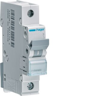 Hager MCN120 Leitungsschutzschalter 1polig 6kA C20A 1M