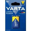 Varta Batterie Longlife Power 9V E Block (1er Blister)