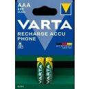 Varta Phone Akku 58398 AAA HR03 Micro 800mAh (2er Blister)