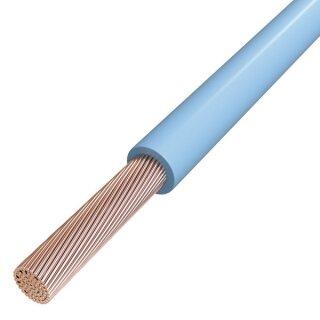Aderleitung flexibel H07V-K 1x10 mm²  hellblau (Meterware)
