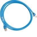 Hager Patch-Kabel ZZ45WAN150 2xRJ45 Stecker blau 1,5m
