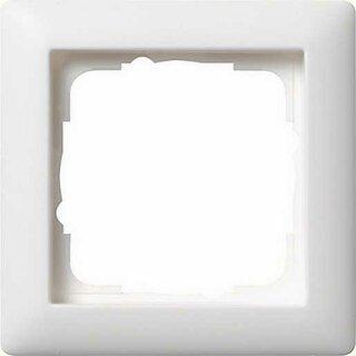 Gira 021104 Abdeckrahmen 1f Standard 55 Reinweiß matt