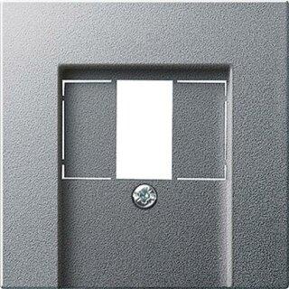Gira 027626 Abdeckung TAE USB System 55 Farbe Alu