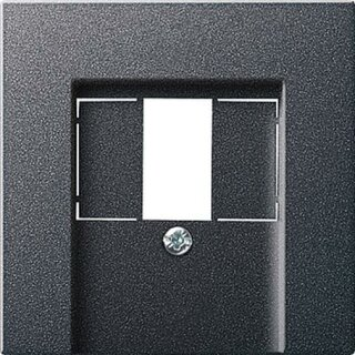 Gira 027628 Abdeckung TAE USB System 55 Anthrazit