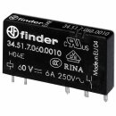 Finder 34.51.7.060.0010 Steck-/Printrelais 60VDC 1Wechsler