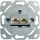 Telegärtner Anschlussdose AMJ45 K 8/8 Up/0 Class EA(IEC) 500 ohne Zentralplatte