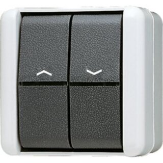 Jung Jalousie-Wippschalter 10 AX 250 V ~ 809VW