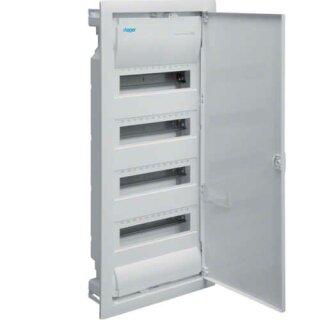 Hager Volta Unterputzverteiler IP30 mit Tür 48 Platzeinheiten VU48NC