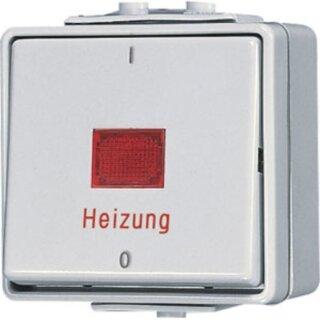 Jung Heizungsschalter 10 AX 250 V ~ 602HW