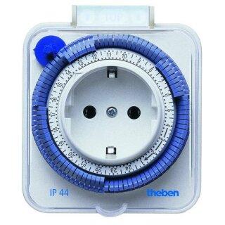 Theben timer 26 Steckdosenschaltuhr IP44 weiß
