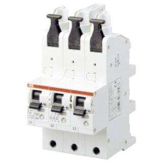 ABB SLS-Schalter S751/3-E63 3x1polig Sammelschiene E-Charakteristik