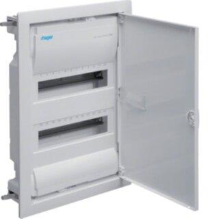 Hager Volta Hohlwandverteiler IP30 mit Tür 24 Platzeinheiten VH24NC