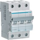 Hager MCN350 Leitungsschutzschalter 3polig 6kA C50A 3M