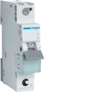 Hager MCS116 Leitungsschutzschalter 1polig 6kA C16A Quick Connect