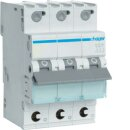 Hager MCS340 Leitungsschutzschalter 3polig 6kA C40A Quick...