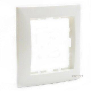 Berker 10118989 Rahmen 1fach, S.1, polarweiß glänzend