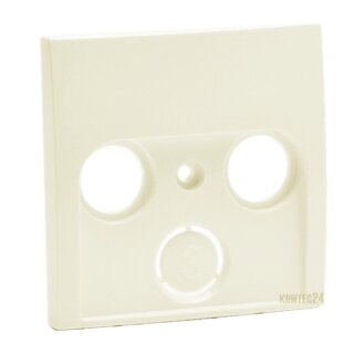 Berker 12038982 Zentralstück f. Antennen-Steckdose 2- und 3Loch S.1 weiß, glänzend