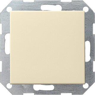 Gira 012601 Tastschalter Universal-Aus-Wechselschalter System 55 Cremeweiß