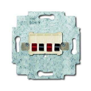 Busch-Jaeger 0248/02-101 Stereo-Lautsprecher-Anschlussdose weiß