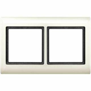 Merten Aquadesign-Rahmen 2fach weiß 400244