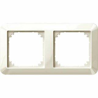 Merten 1-M-Rahmen 2fach weiß glänzend 389244