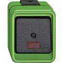 Merten Wipp-Kontrollschalter Wechsel grün Agrar 372677