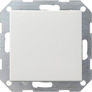 Gira 012603 Tastschalter Universal-Aus-Wechselschalter System 55 Reinweiß