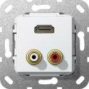 Gira 567403 C-Audio HDMI™ K-Peitsche Einsatz...