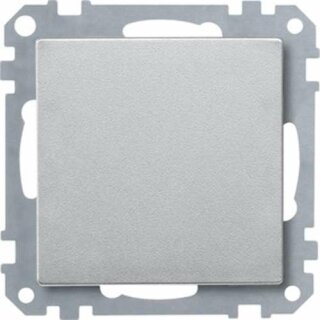 Merten Blindabdeckung aluminium System M 391860