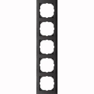 Merten M-Pure-Rahmen 5fach anthrazit M-Pure MEG4050-3614