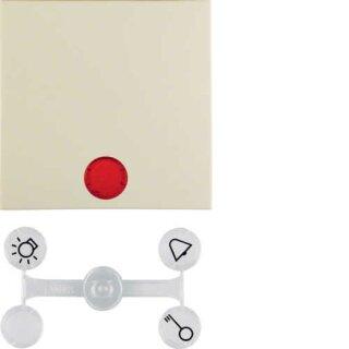 Berker 16218982 Wippe mit 5 beiliegenden Linsen S.1 weiß, glänzend